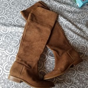 Michael Kors tall suede boots